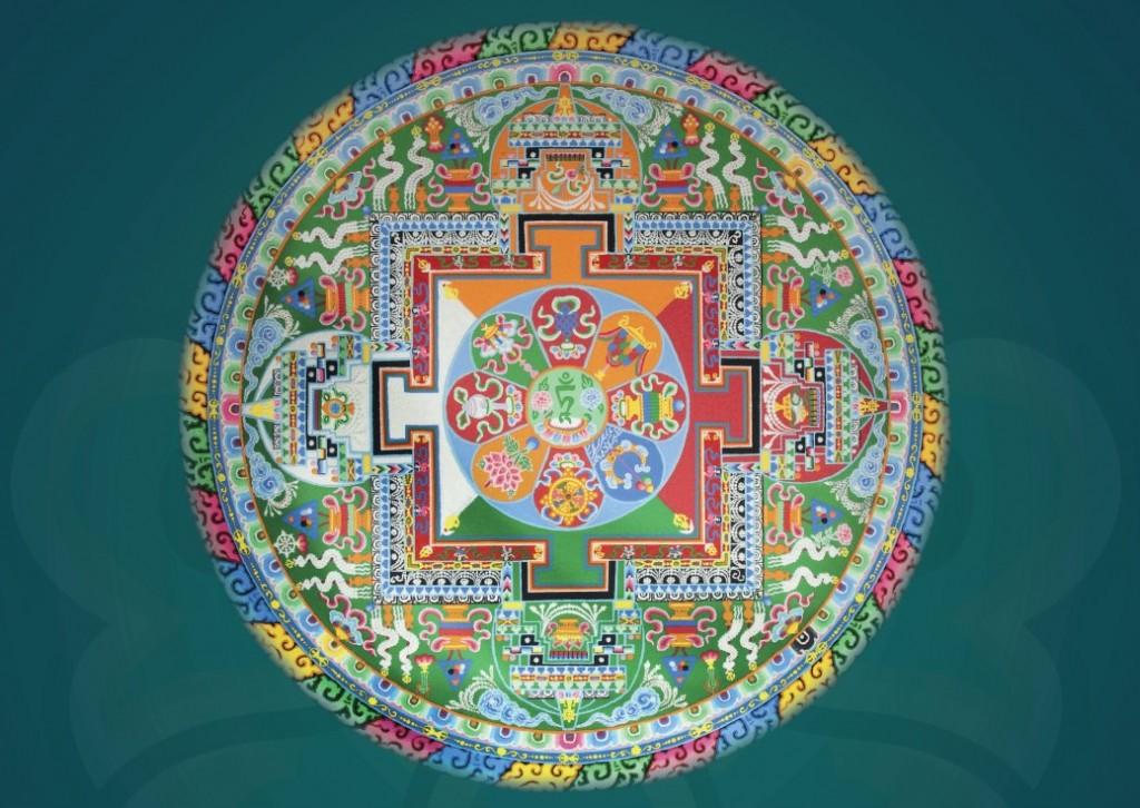 Mandala de Tara Verde